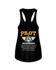 PILOT GIFTS  - DEFINITION OF PILOT Ladies Flowy Tank thumbnail
