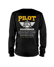 PILOT GIFTS  - DEFINITION OF PILOT Long Sleeve Tee thumbnail