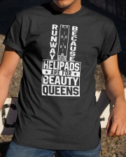 PILOT GIFT - FOR BEAUTY QUEENS Classic T-Shirt apparel-classic-tshirt-lifestyle-28