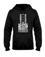 PILOT GIFT - FOR BEAUTY QUEENS Hooded Sweatshirt thumbnail