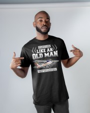 GREAT GIFT FOR PILOT - LIKE AN OLD MAN Classic T-Shirt apparel-classic-tshirt-lifestyle-front-32