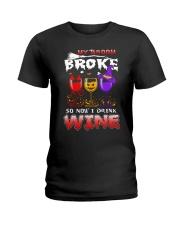 B - HW - WINE Ladies T-Shirt thumbnail