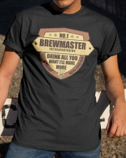 CRAFT BEER BREWMASTER Classic T-Shirt apparel-classic-tshirt-lifestyle-28