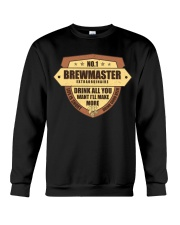 CRAFT BEER BREWMASTER Crewneck Sweatshirt thumbnail