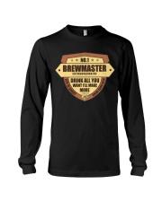 CRAFT BEER BREWMASTER Long Sleeve Tee thumbnail