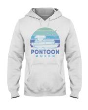 PONTOON BOAT GIFT - PONTOON QUEEN 4 Hooded Sweatshirt thumbnail