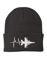 AVIATION RELATED GIFT - F16 HEARTBEAT POLO Knit Beanie thumbnail
