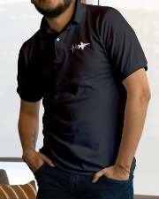 AVIATION RELATED GIFT - F16 HEARTBEAT POLO Classic Polo garment-embroidery-classicpolo-lifestyle-01