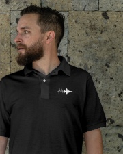 AVIATION RELATED GIFT - F16 HEARTBEAT POLO Classic Polo garment-embroidery-classicpolo-lifestyle-08