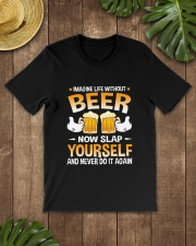 TRULY DRINK - LIFE WITHOUT BEER Classic T-Shirt lifestyle-mens-crewneck-front-18