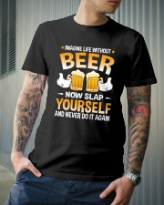 TRULY DRINK - LIFE WITHOUT BEER Classic T-Shirt lifestyle-mens-crewneck-front-6