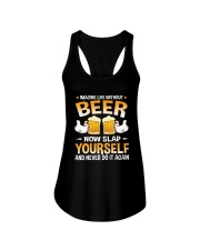 TRULY DRINK - LIFE WITHOUT BEER Ladies Flowy Tank thumbnail