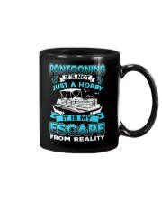 PONTOON BOAT GIFT - ESCAPE FROM REALITY Mug thumbnail