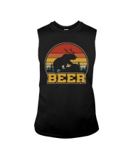 RETRO BEER BEAR BEER VINTAGE Sleeveless Tee thumbnail
