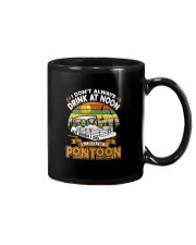 PONTOON BOAT GIFT - DRINKING AT NOON Mug thumbnail