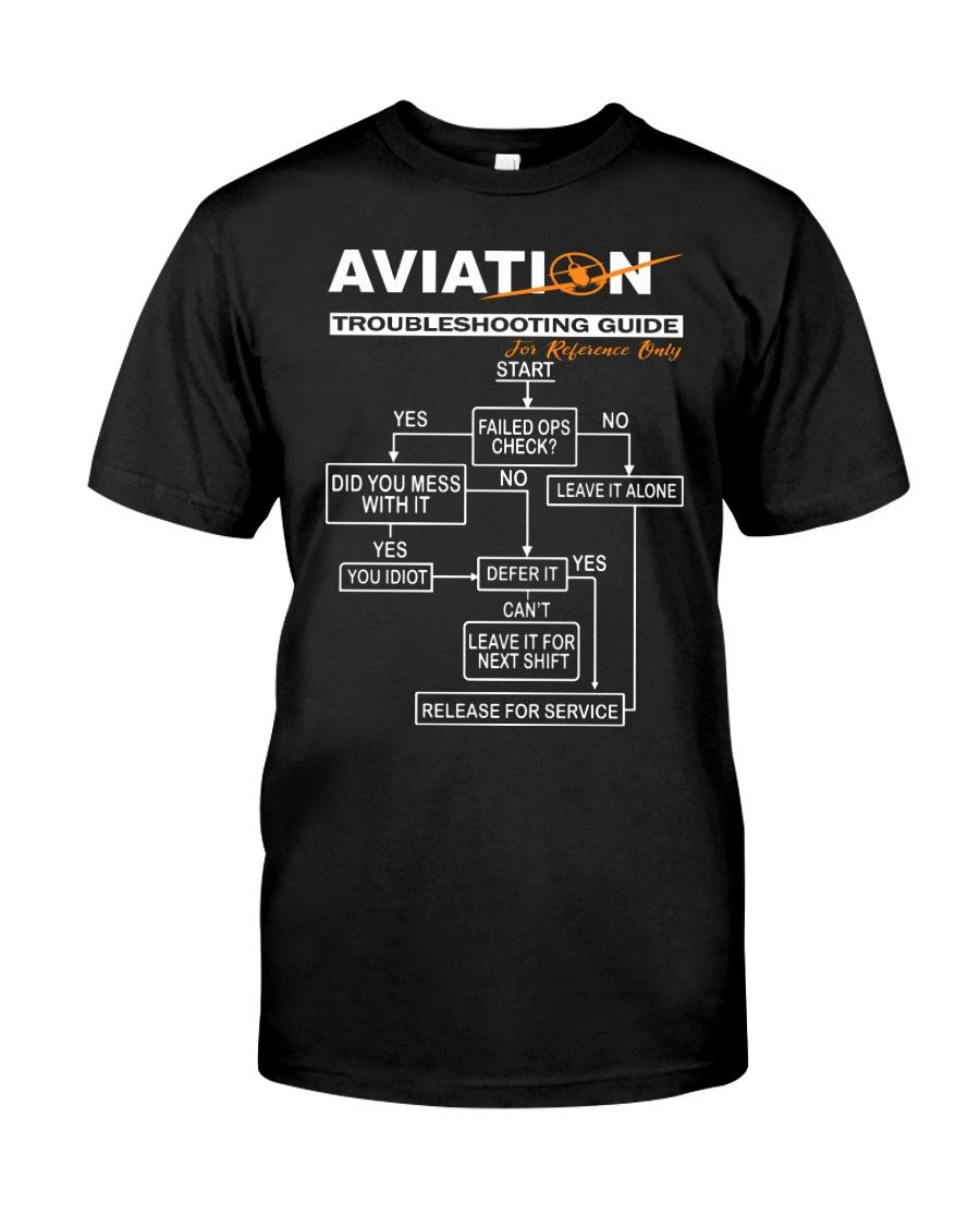 PILOT GIFT - AVIATION TROUBLESHOOTING GUIDE Classic T-Shirt