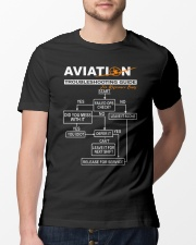PILOT GIFT - AVIATION TROUBLESHOOTING GUIDE Classic T-Shirt lifestyle-mens-crewneck-front-13