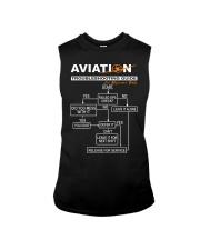 PILOT GIFT - AVIATION TROUBLESHOOTING GUIDE Sleeveless Tee thumbnail