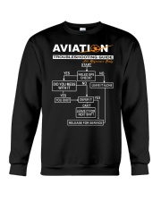 PILOT GIFT - AVIATION TROUBLESHOOTING GUIDE Crewneck Sweatshirt thumbnail