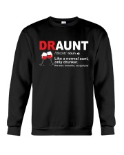 DRAUNT - WINE Crewneck Sweatshirt thumbnail