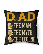 "DRUNKARD - THE MAN THE MYTH THE LEGEND Indoor Pillow - 16"" x 16"" thumbnail"
