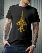 PILOT AVIATION LOVER - T38 ALPHABET  Classic T-Shirt lifestyle-mens-crewneck-front-6