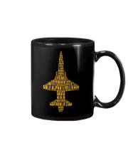 PILOT AVIATION LOVER - T38 ALPHABET  Mug thumbnail