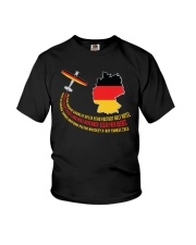AIRPLANE GIFT - GERMANY FLAG  Youth T-Shirt thumbnail