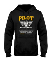 PILOT GIFTS - DEFINITION OF A PILOT Hooded Sweatshirt thumbnail