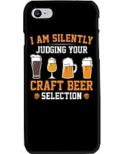 CRAFT BEER LOVER - JUDGING YOU Phone Case tile