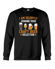CRAFT BEER LOVER - JUDGING YOU Crewneck Sweatshirt tile