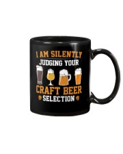 CRAFT BEER LOVER - JUDGING YOU Mug tile