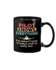 He - A Pilot Knows Everything Mug thumbnail