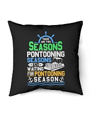 PONTOON BOAT GIFT - PONTOONING SEASONS Indoor Pillow tile