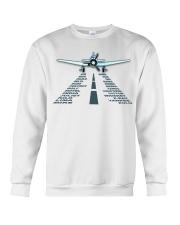 PILOT AVIATION GIFT - LANDING PHONETIC ALPHABET Crewneck Sweatshirt thumbnail