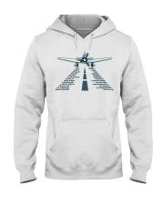PILOT AVIATION GIFT - LANDING PHONETIC ALPHABET Hooded Sweatshirt thumbnail