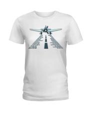 PILOT AVIATION GIFT - LANDING PHONETIC ALPHABET Ladies T-Shirt thumbnail