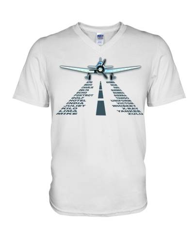 PILOT AVIATION GIFT - LANDING PHONETIC ALPHABET