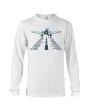 PILOT AVIATION GIFT - LANDING PHONETIC ALPHABET Long Sleeve Tee thumbnail