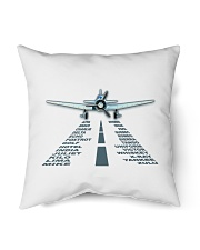 "PILOT AVIATION GIFT - LANDING PHONETIC ALPHABET Indoor Pillow - 16"" x 16"" thumbnail"