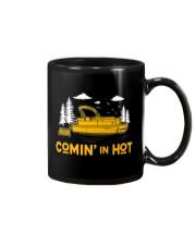PONTOON BOAT GIFT - COMING IN HOT Mug thumbnail