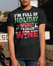 WINE - HOLIDAY SPIRIT Classic T-Shirt apparel-classic-tshirt-lifestyle-29