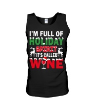 WINE - HOLIDAY SPIRIT Unisex Tank thumbnail