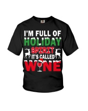 WINE - HOLIDAY SPIRIT Youth T-Shirt thumbnail