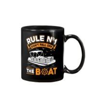 PONTOON BOAT GIFT - RULE 1 Mug thumbnail