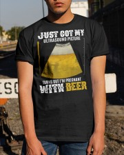 GOT MY BEER BABY Classic T-Shirt apparel-classic-tshirt-lifestyle-29