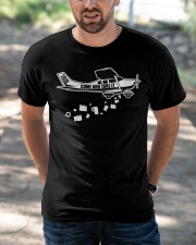 PILOT GIFTS - COME AND TAKE IT Classic T-Shirt apparel-classic-tshirt-lifestyle-front-50