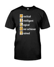 AVIATION PILOT GIFT - PHONETIC ALPHABET Classic T-Shirt front