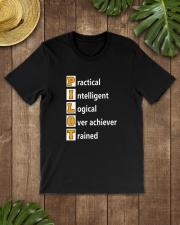 AVIATION PILOT GIFT - PHONETIC ALPHABET Classic T-Shirt lifestyle-mens-crewneck-front-18