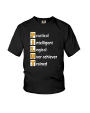 AVIATION PILOT GIFT - PHONETIC ALPHABET Youth T-Shirt thumbnail